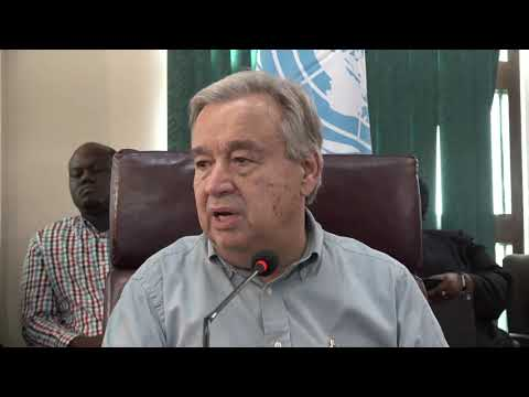 Un Chief on the climate change, Middle East & other matters - Press Conference (7 October 2017)