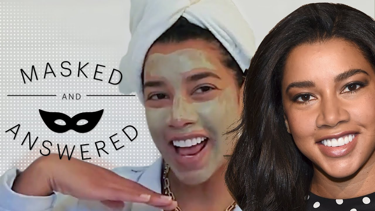 Hannah Bronfman's Guide to Gua Sha & Facial Cupping | Masked And Answered | Marie Claire