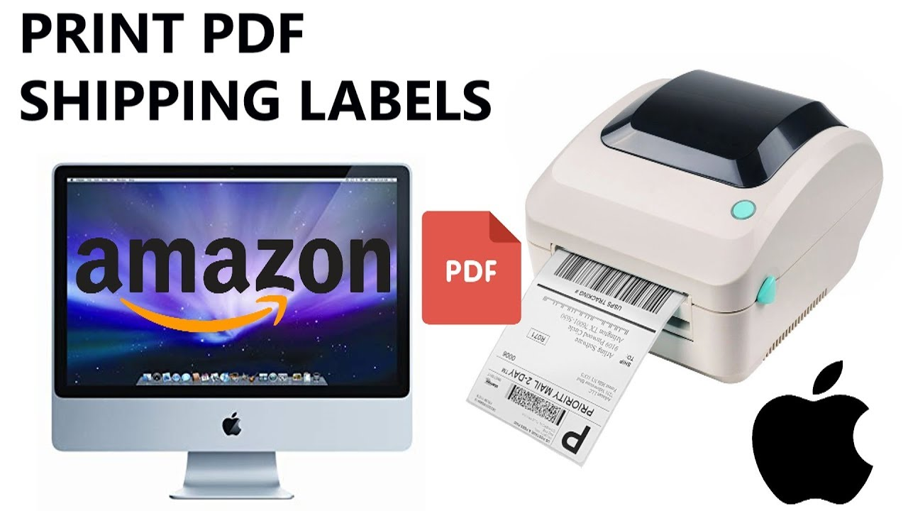Amazon FBA Tips: How to Print FBA Warehouse Label & Shipping Label on Mac  Tutorial UPDATED 2019
