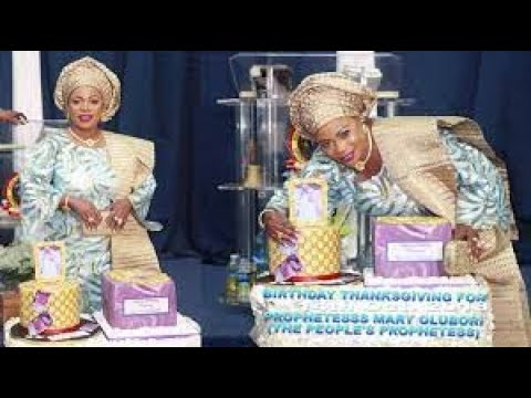 Download PROPHETESS OLUBORI SHUTDOWN LAGOS WITH LUXURY BIRTHDAY PARTY TOP CELEBRITIES ALL PRESENT