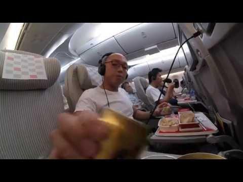 Japan Airlines flight JL 707: Narita to Bangkok economy class experience
