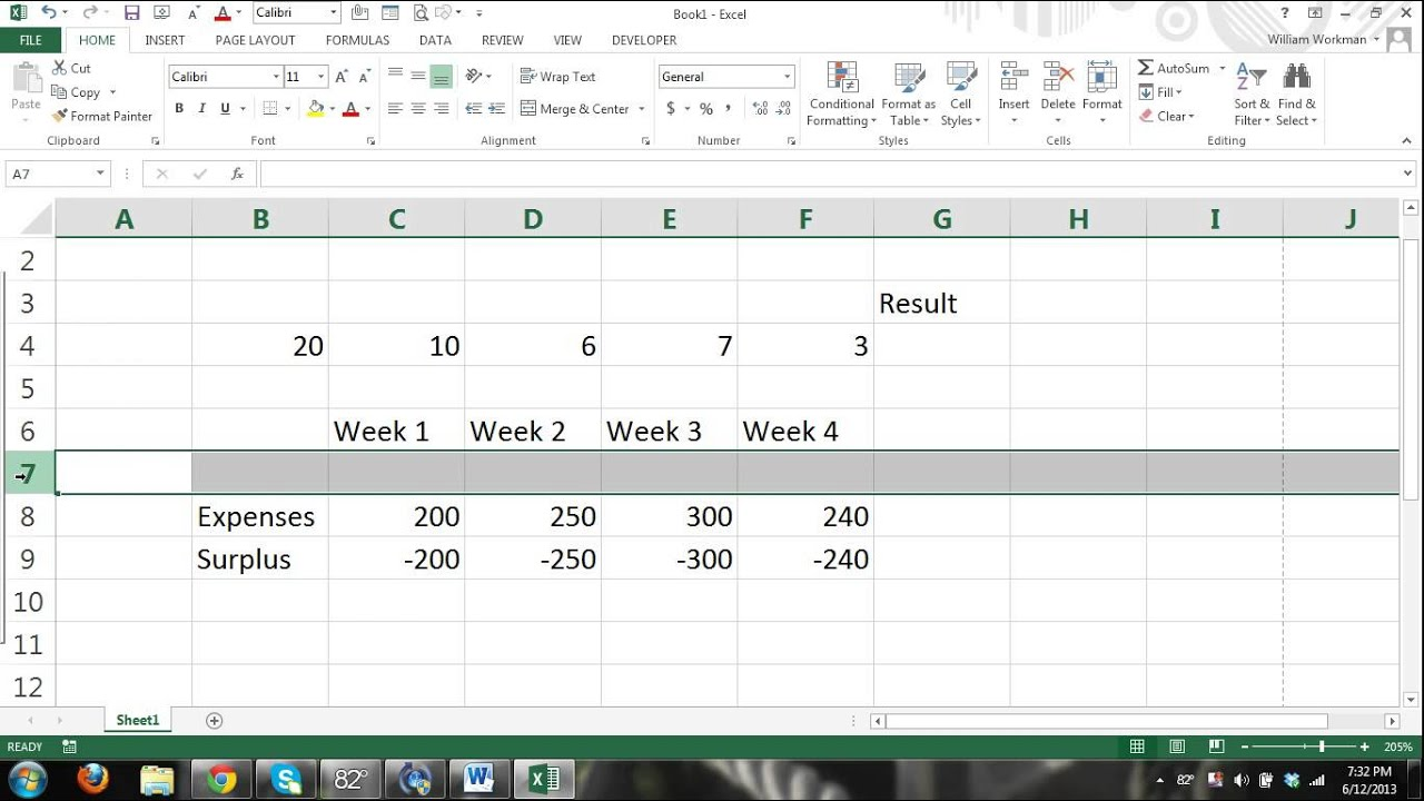 Ms Excel Tutorial For Beginners Part 3