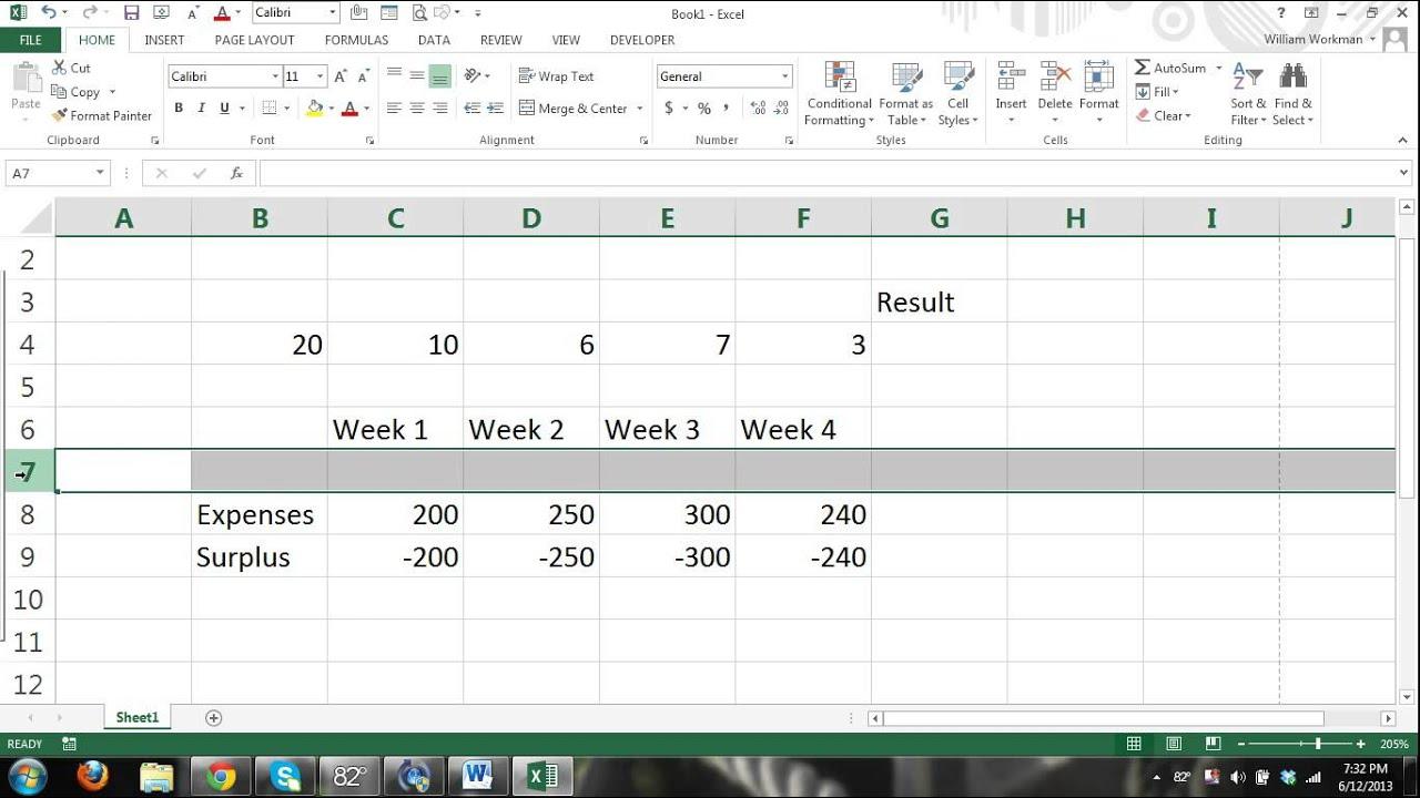 free cash drawer balance sheet template