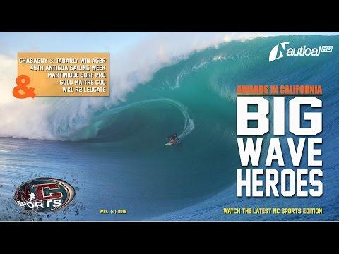 NC Sports 29 Apr | Big Wave Awards, AG2R Winners, Antigua Sailing Week