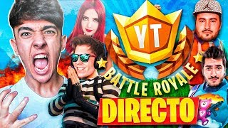AGUSTIN51 EN EL TORNEO PRESENCIAL de FORTNITE: Battle Royale!! #YTBattleRoyale