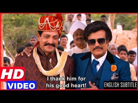 Lingaa Tamil Movie Scenes HD | Collector's plot against Rajinikanth fails | Sonakshi Sinha
