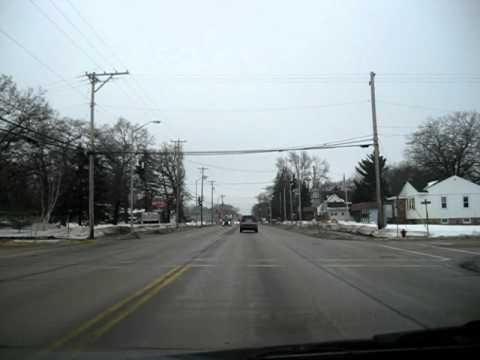 Driving through Adams Friendship Wisconsin