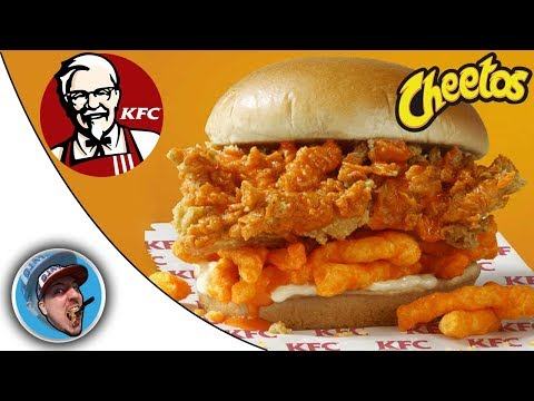 Craig Stevens - KFC  teams up With Cheetos For A New Chicken Sandwich