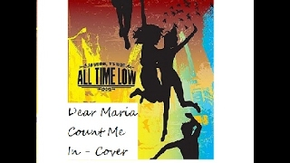 All Time Low - Dear Maria Count Me In - Ninjacraft26 cover