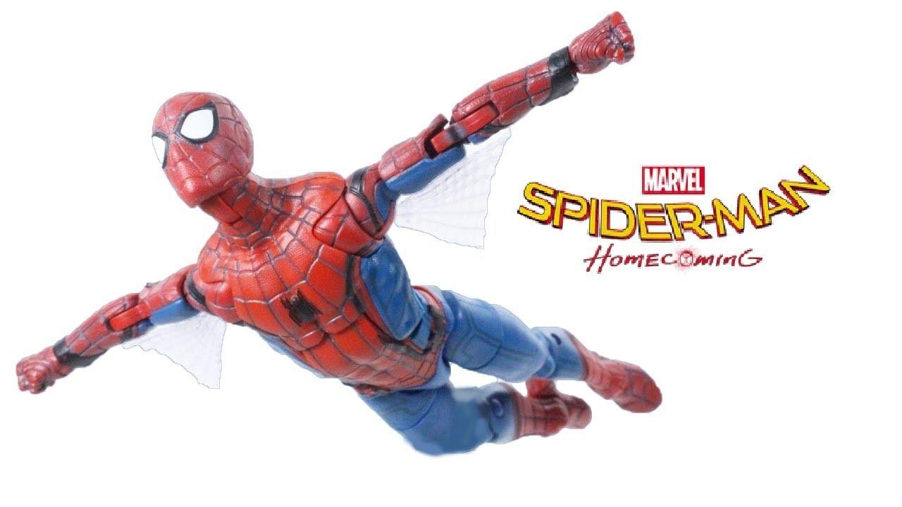 Обзор игрушек совершенного человека паука - YouTube