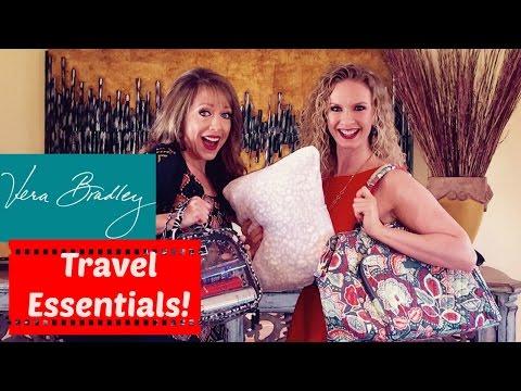 Vera Bradley Travel Essentials