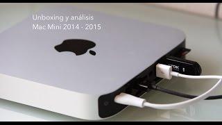 Unboxing y análisis Mac Mini 2014 - 2015 en Español