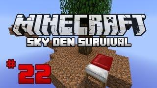 Minecraft Sky Den Survival W SparxSLX - Ep22 - I Suck At Parkour