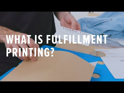 Top 5 Things You Need to Know About Fulfillment Printing Services