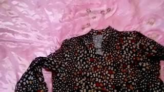 Заказ Avon 13  Часть 2  Обзор на  малиновые джеггинсы и блузку