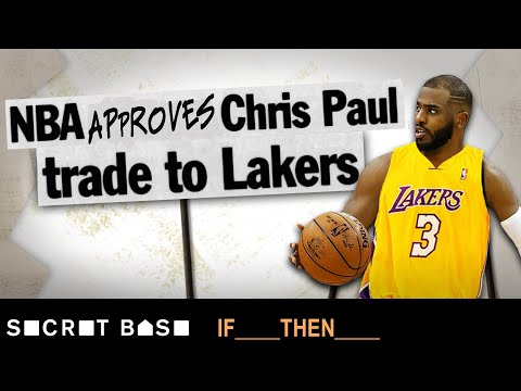 Chris Paul to the Lakers was vetoed years ago, but some of us are still wondering what could have been