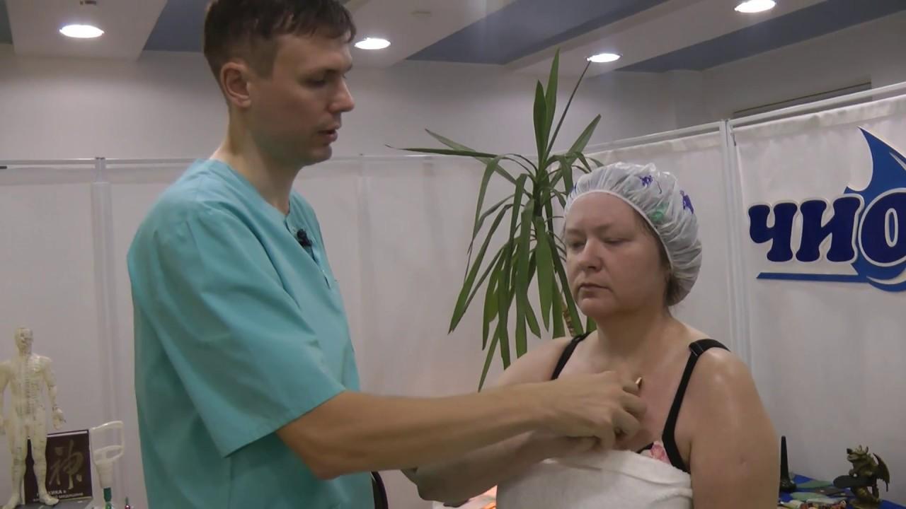 Самомассаж при простуде
