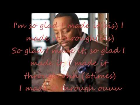 My testimony by Marvin Sapp(with lyrics)