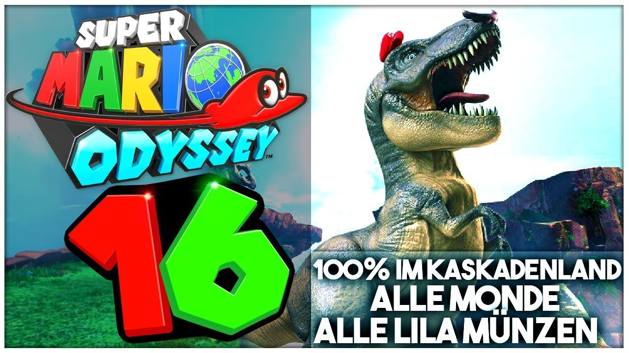 Super Mario Odyssey Part 16 Alle Power Monde Lila Münzen Im