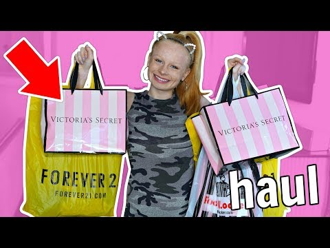 HUGE AUTUMN CLOTHES HAUL!! *Pink, New Look, Forever 21, Nike*