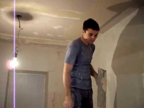видео: выравнивание потолка по перфоуглам