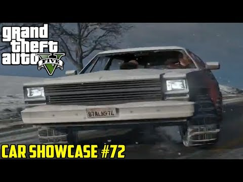 GTA V: Snow Police Rancher & Franklin's Car ONLINE | Car Showcase #72
