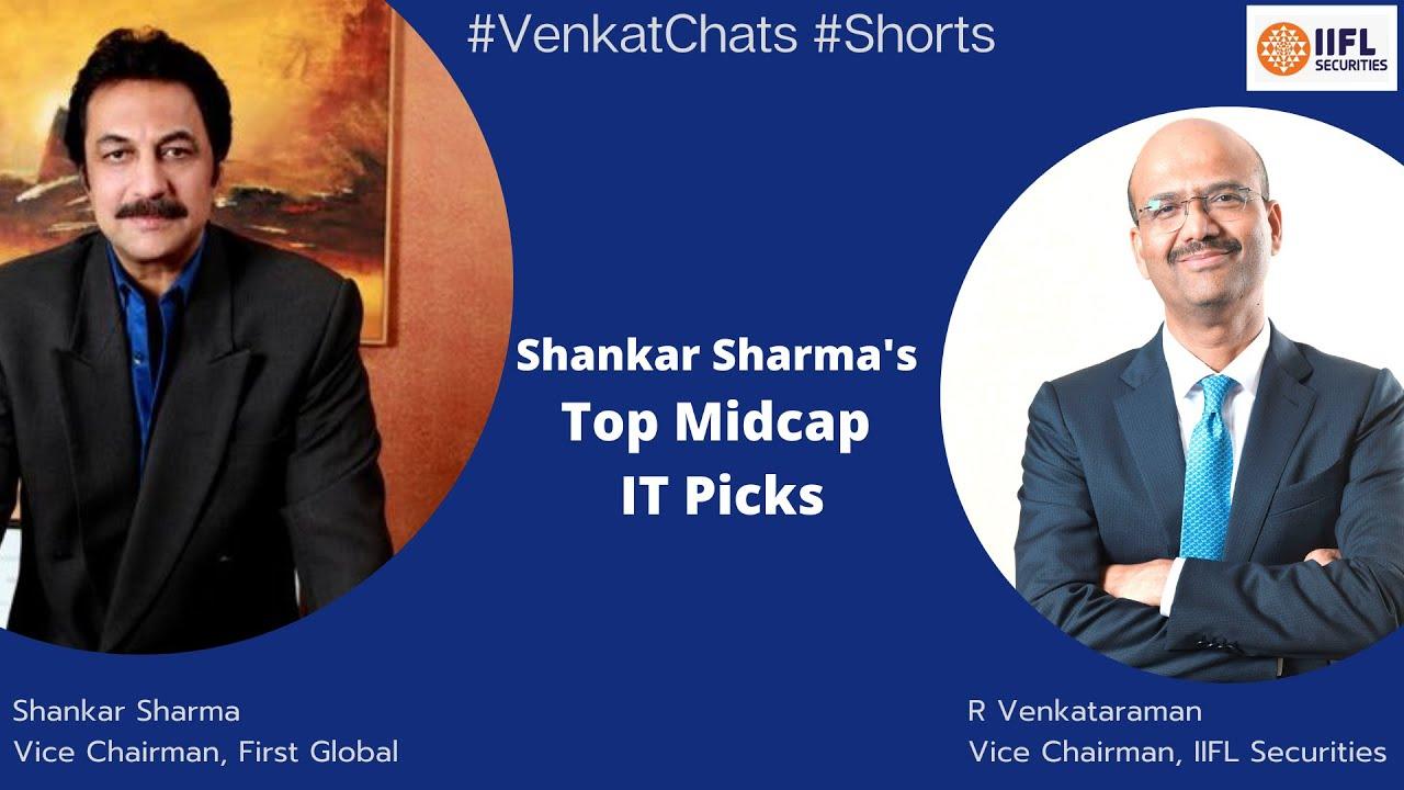 #VenkatChats: Shankar Sharma's Top IT MidCap Picks | R Venkataraman |