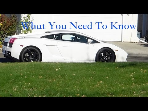 LAMBORGHINI GALLARDO: WHAT YOU NEED TO KNOW