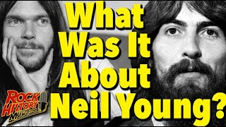 What George Harrison Hated About Neil Young