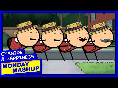 Barbershop Quartet GONE SEXUAL | Cyanide & Happiness Monday Mashup