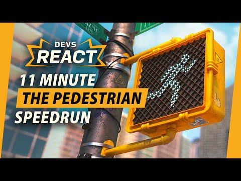 The Pedestrian Developers React to 11 Minute Speedrun