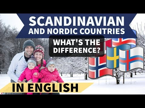 Nordic and Scandinavian Countries - Know the difference - General Knowledge for UPSC and SSC