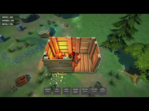 Unity 3D - Survival Game Project | Game Dev Preview #1