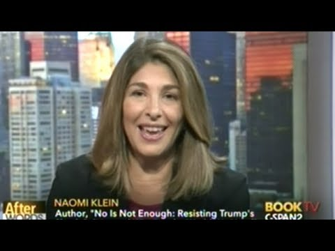 Naomi Klein: NO IS NOT ENOUGH! Resisting Trump's Shock Politics And Winning The World We Need!