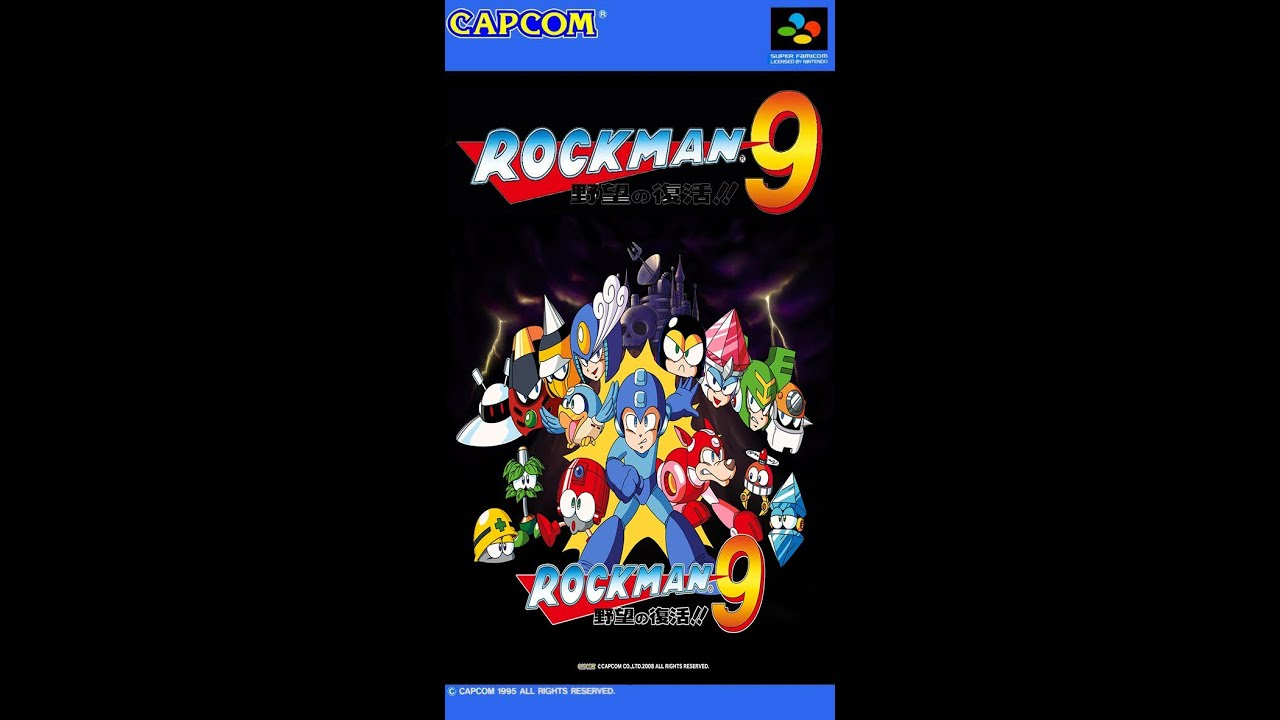 Megaman 9 concrete man mm7 remake youtube for Megaman 9 portada