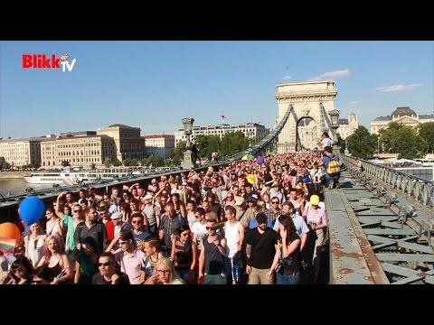 Közel 20 ezren voltak a budapesti Pride-on letöltés