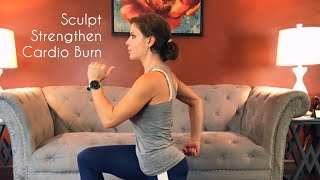 15-Minute Sculpt, Strengthen & Burn Workout