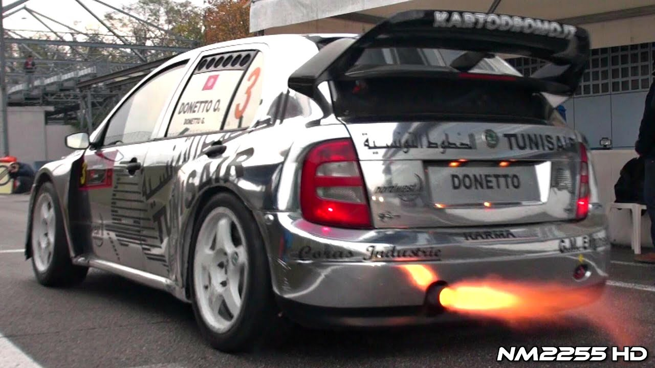Crazy Rally Cars Sound on Track!! - YouTube