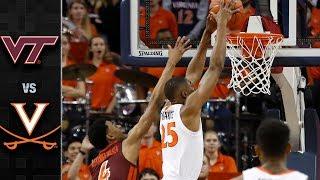Virginia Tech vs. Virginia Basketball Highlights (2018-19)