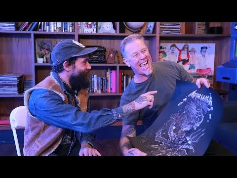 A Conversation with Metallica's James Hetfield & Artist Richey Beckett (2017)