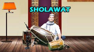 Sholawat Tibbil Qulub versi koplo jaipong