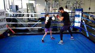 Grace Training At Premier Boxing Club In Perth, Wa