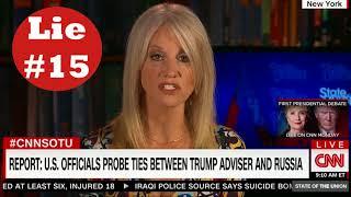 Team Trump's 100+ Lies: Lies #15-18