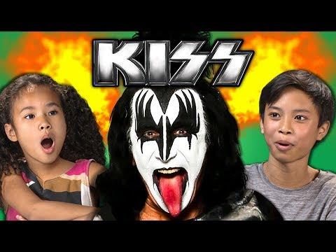 KIDS REACT TO KISS (Classic Rock)