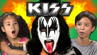 KIDS REACT TO KISS (Classic Rock)