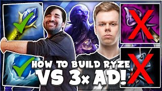 My Ryze Build That G2 Wunder Should Have Used Against FPX! 😉 | Voyboy