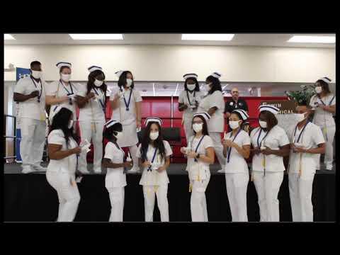 Erwin Technical College Nursing Pinning Ceremony