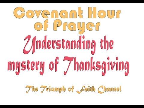 Covenant Hour of Prayer  December 31,  2016 Live STREAM