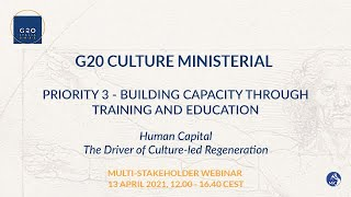 G20 CULTURE MINISTERIAL