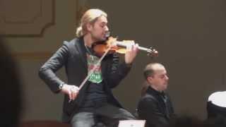 David Garrett Recital 2012